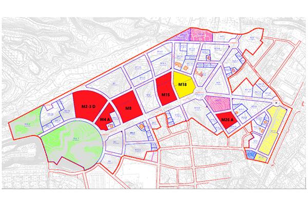Plano Parcelas APA9 Alicante